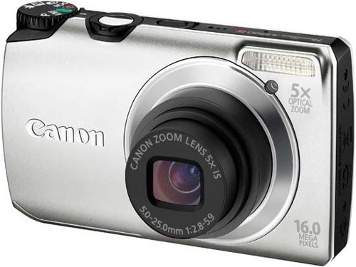 Canon Powershot A3200IS Digital Camera in Silver