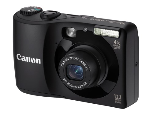 Canon Powershot A1200 Digital Camera in Black